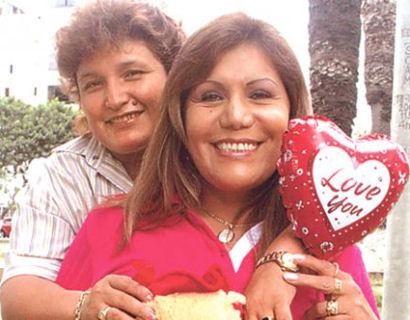 Abencia Meza y Alicia Delgado