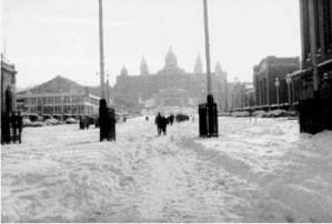 1914 Gran nevada sobre Barcelona
