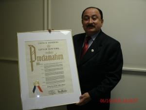 Obispo, Dr., Héctor Atilio Chieza, RECONOCIMIENTOS